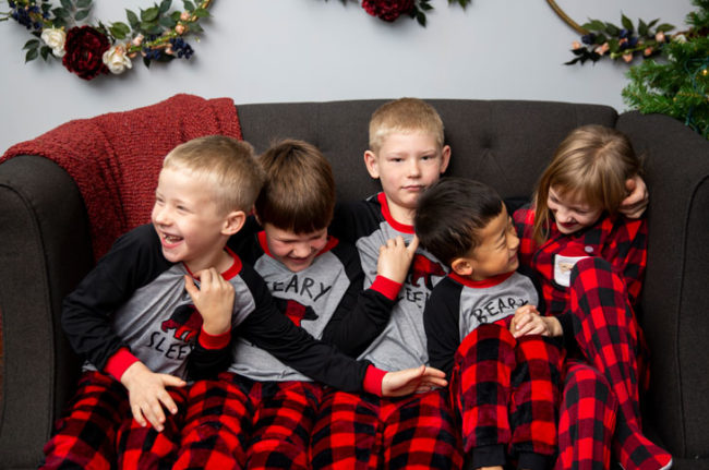Christmas session with 3 Cord Photography in Sioux Falls, SD
