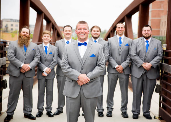 Wedding Party with 3 Cord Photography in Sioux Falls, SD